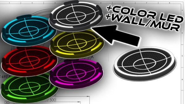 prostadium beystadium training design concept avec neon anime