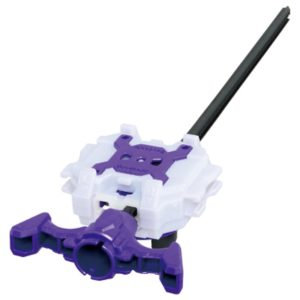 Takara Tomy Beyblade BURST B-112 Long Light Launcher LR violet purple blanc white dual spin