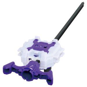 Takara Tomy Beyblade BURST B-112 Long Light Launcher LR violet purple blanc white dual spin