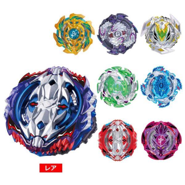 Beyblade Burst volume 11 B-118 toupie collection edition limité couleur takara tomy vice leopard rouge bleu