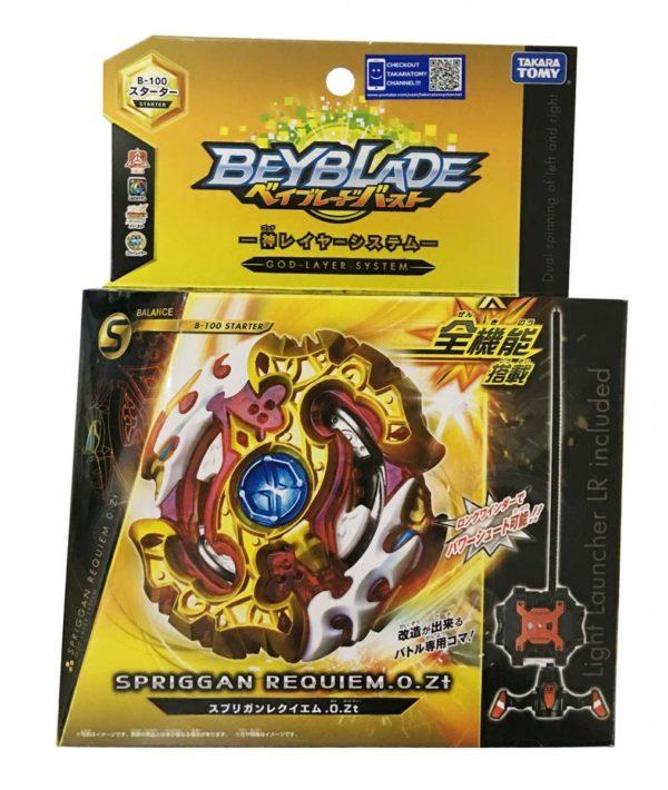 Beyblade burst B-100 boite spriggan requiem takara tomy