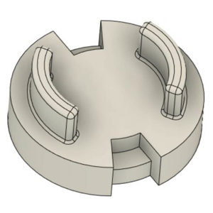 3d print model blocker trinity top bloqueur burst toupie combat trinité s-fight sfight spintop battle beyblade