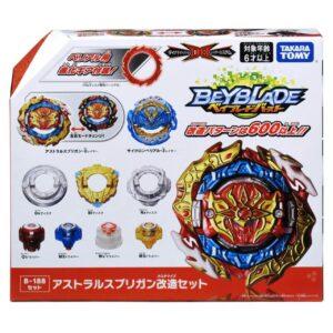 Toupie-Beyblade-Burst-Takara-Tomy-Dynamite-Battle set B-188 astral spriggan customize set boîte-devant-vue-face-officielle