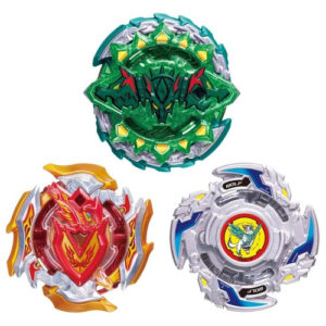 Toupie Beyblade Burst Takara Tomy Superking b121 cho-z triple booster set 3 toupies devant vue face officielle Spintop Battle