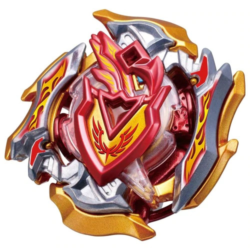 Toupie Beyblade Burst Takara Tomy Superking b121 cho-z triple booster set rouge côté devant vue face officielle Spintop Battle