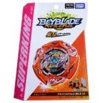 Toupie Beyblade Burst Takara Tomy Superking b161 Booster Glide Ragnaruk Wh R 1S boîte devant vue face officielle Spintop Battle