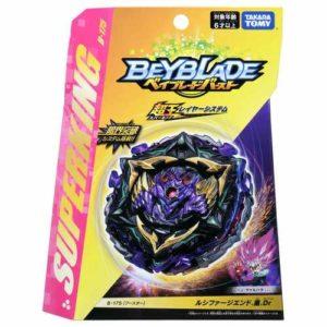 Toupie-Beyblade-Burst-Takara-Tomy-Superking-b175-Booster-Lucifer-The-End-Kou-Drift-boîte-devant-vue-face-officielle