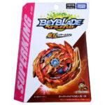 Toupie Beyblade Burst Takara Tomy b159 Superking Booster Super Hyperion Xc 1A boîte devant vue face officielle Spintop Battle