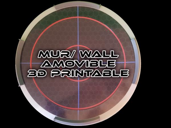 arène mur amovible 3D prostadium beystadium big anime spintop battle fight toupie combat