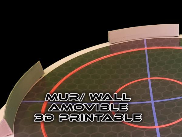 arène mur amovible 3D prostadium beystadium big anime spintop battle fight toupie combat big