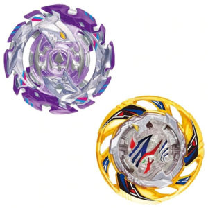 Toupie Beyblade Burst Takara Tomy Superking b170 random booster vol21 vue face officielle violette et jaune Spintop Battle