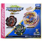 Toupie Beyblade Burst Takara Tomy Superking b171 triple booster set boîte devant vue face officielle Spintop Battle