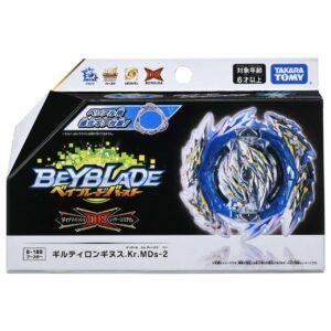 Toupie-Beyblade-Burst-Takara-Tomy-Dynamite-Battle B-189-Booster-Guilty-Longinus-Kr-Metal-Destroy-2-boîte-devant-vue-face-officielle